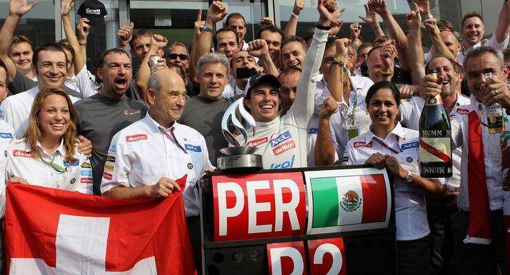 Motor Racing - Formula One World Championship - Italian Grand Prix - Race Day - Monza, Italy