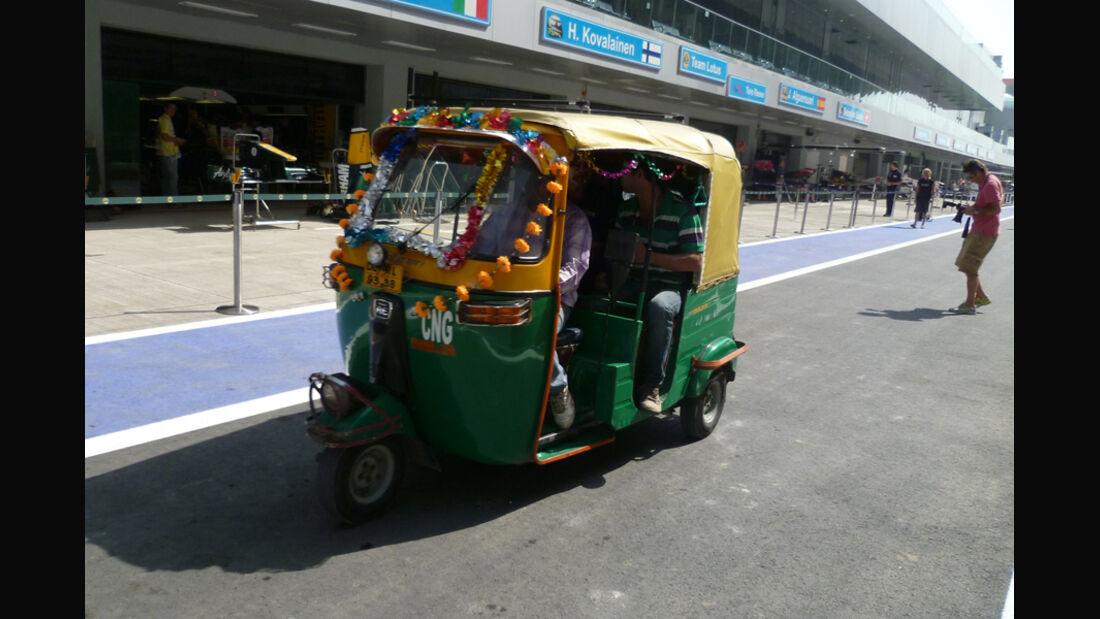 Motor-Rikscha - GP Indien - 27.10.2011