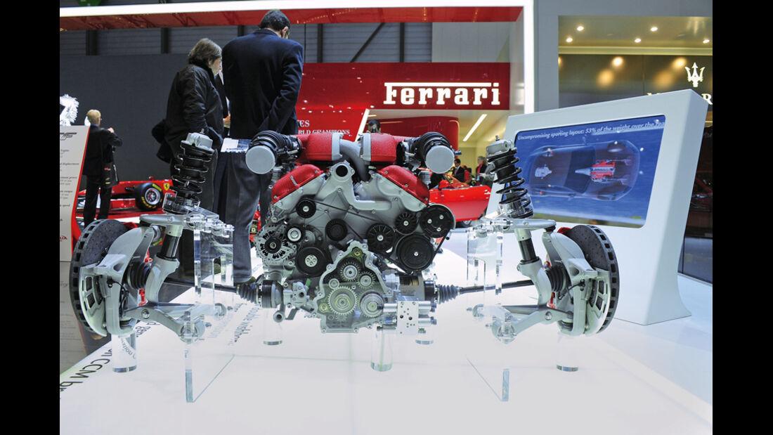 Motor, V12, Kurbelwelle