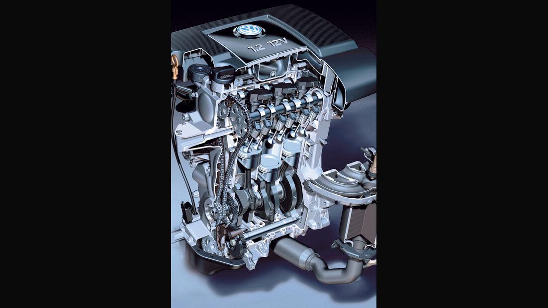 Motor, VW, Dreizylinder