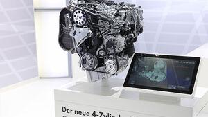 Motor Vierzylinder-Biturbo-Diesel VW
