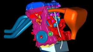 Motor des Fiesta S2000
