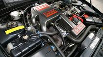 Motor des Opel Lotus Omega