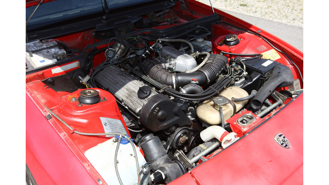 Motor des Porsche 924