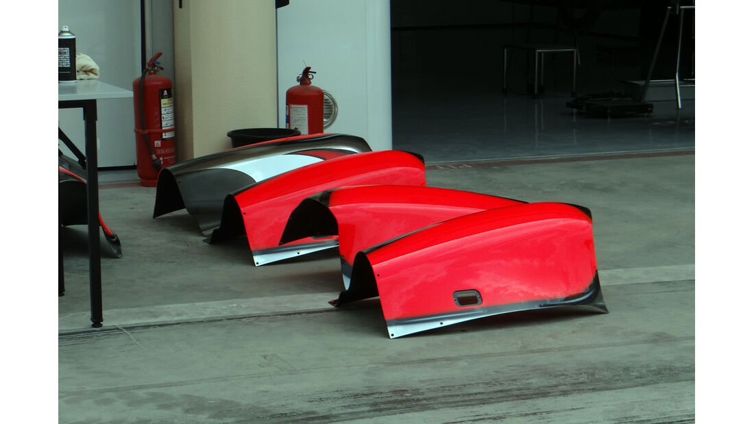 Motorabdeckung McLaren - Formel 1 - GP Bahrain - 18. April 2013