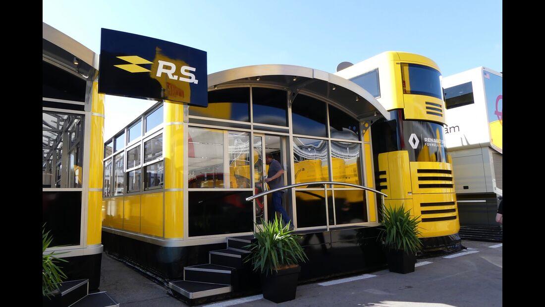 Motorhomes - Formel 1 - GP Spanien - 11. Mai 2017