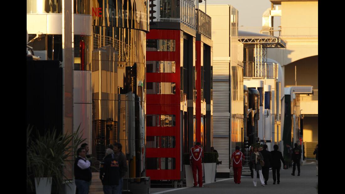 Motorhomes GP Türkei 2011