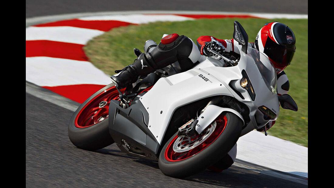 Motorrad 48 PS Ducati 848 Evo