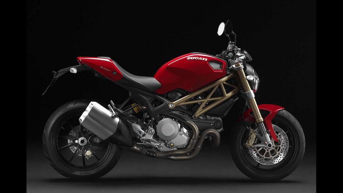 Motorrad 48 PS Ducati Monster 1100 Evo
