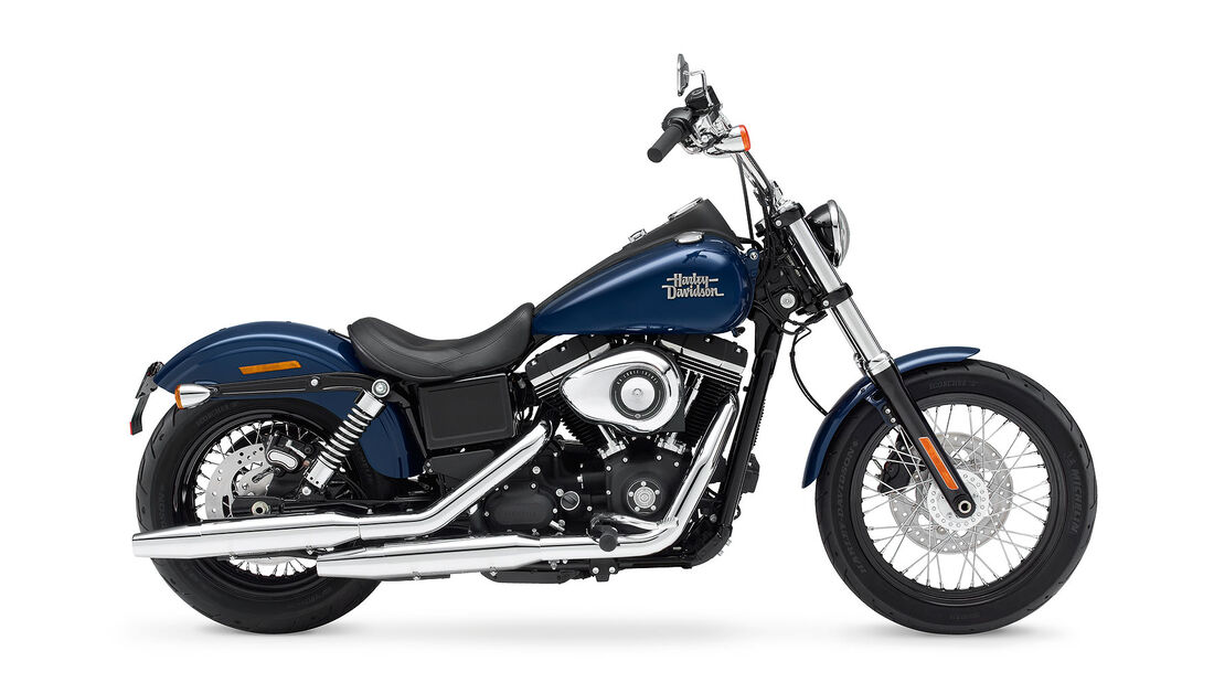 Motorrad 48 PS Harley-Davidson Dyna