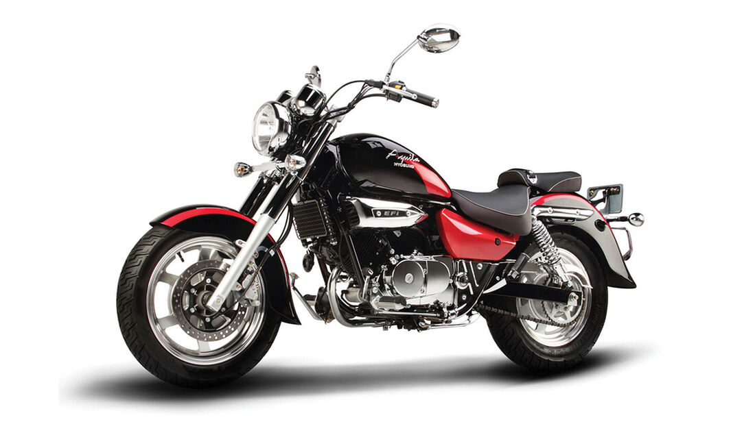 Motorrad 48 PS Hyosung GV 250i Classic