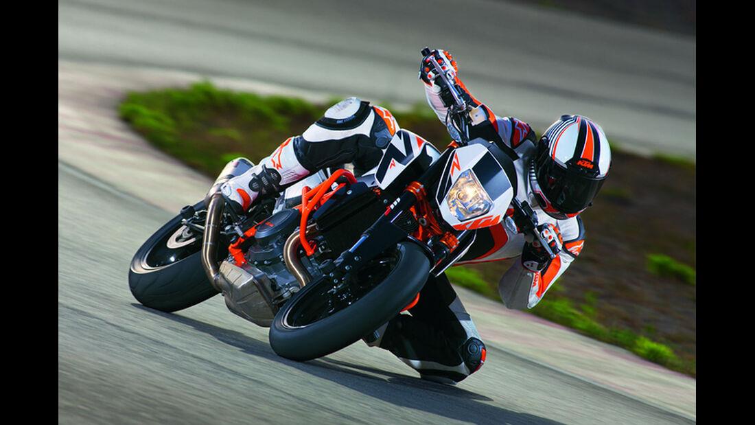 Motorrad 48 PS KTM 690 Duke R