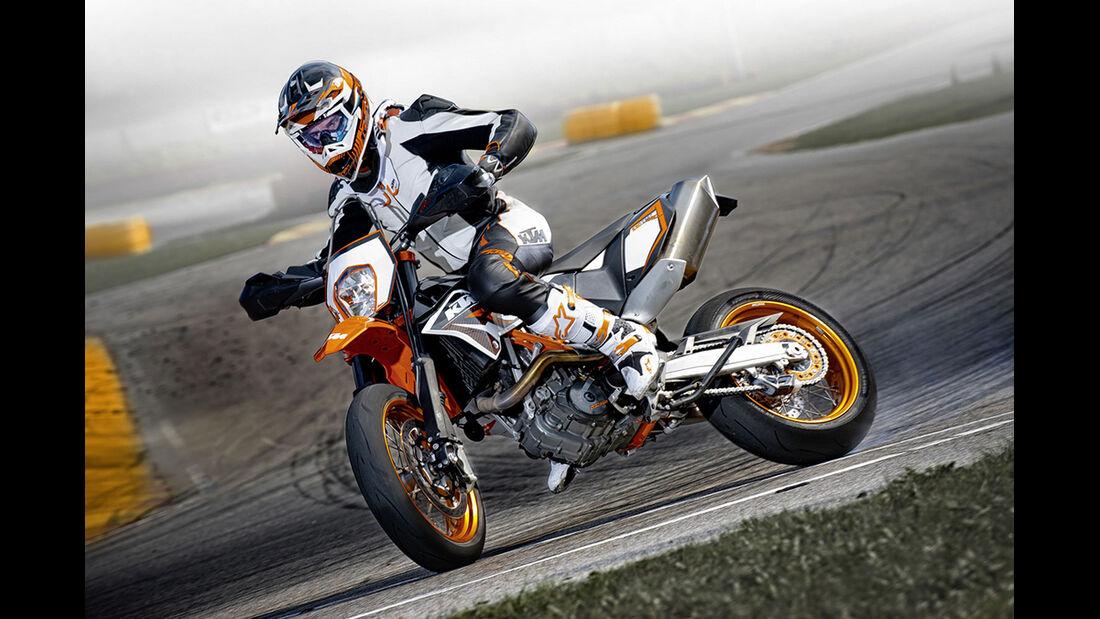 Motorrad 48 PS KTM 690 SMC R