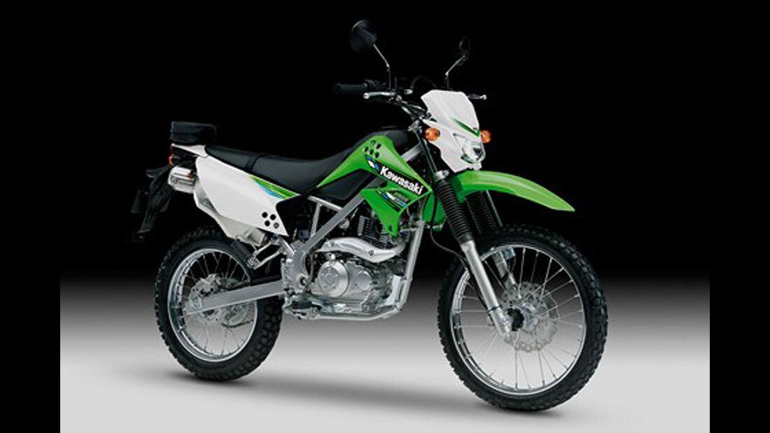 Motorrad 48 PS Kawasaki KLX 125