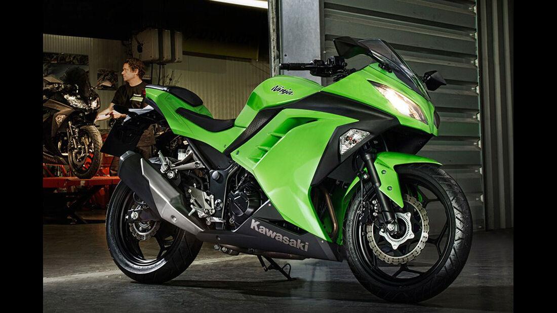 Motorrad 48 PS Kawasaki Ninja 300