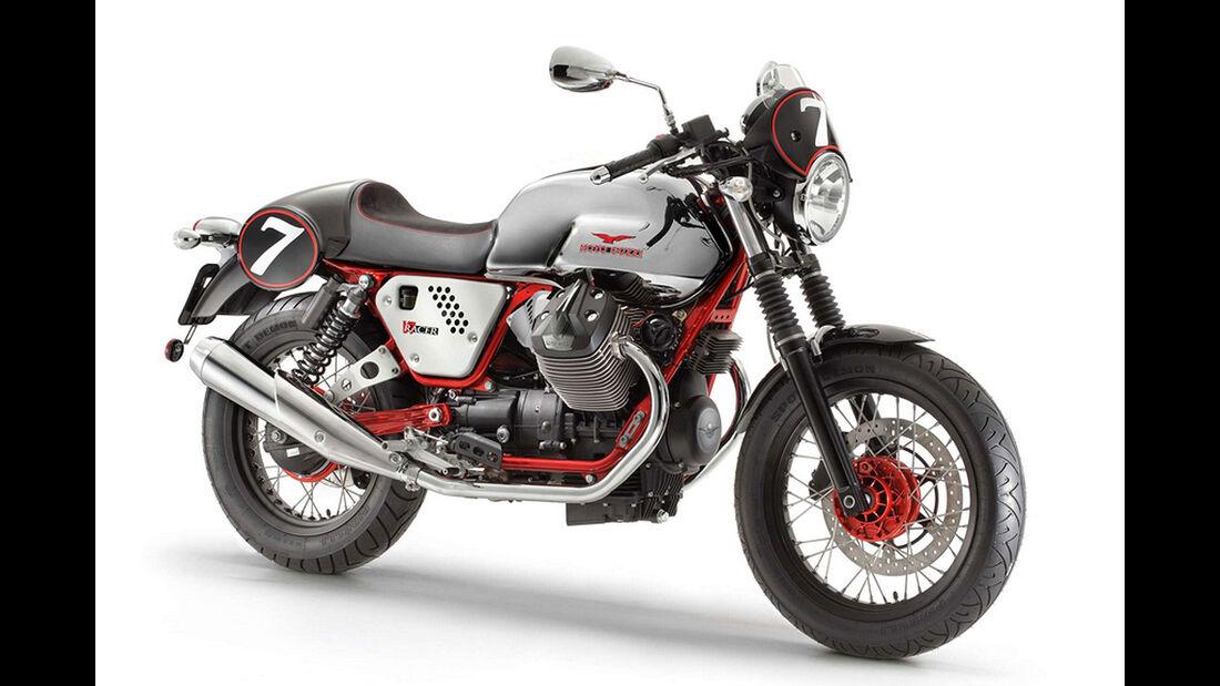 Motorrad 48 PS Moto Guzzi V7 Racer