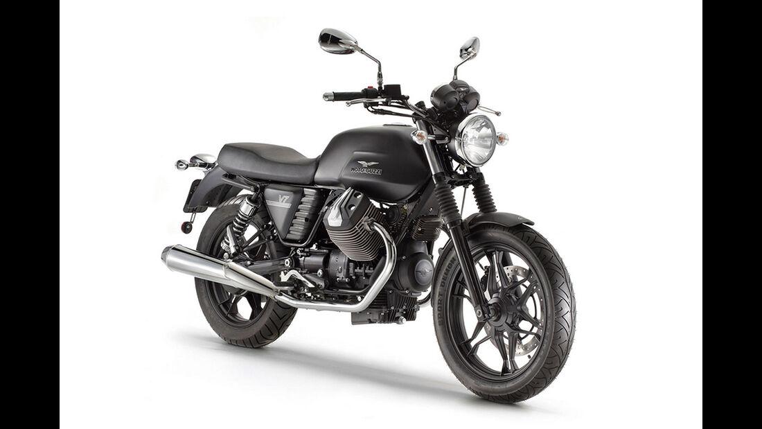 Motorrad 48 PS Moto Guzzi V7 Stone