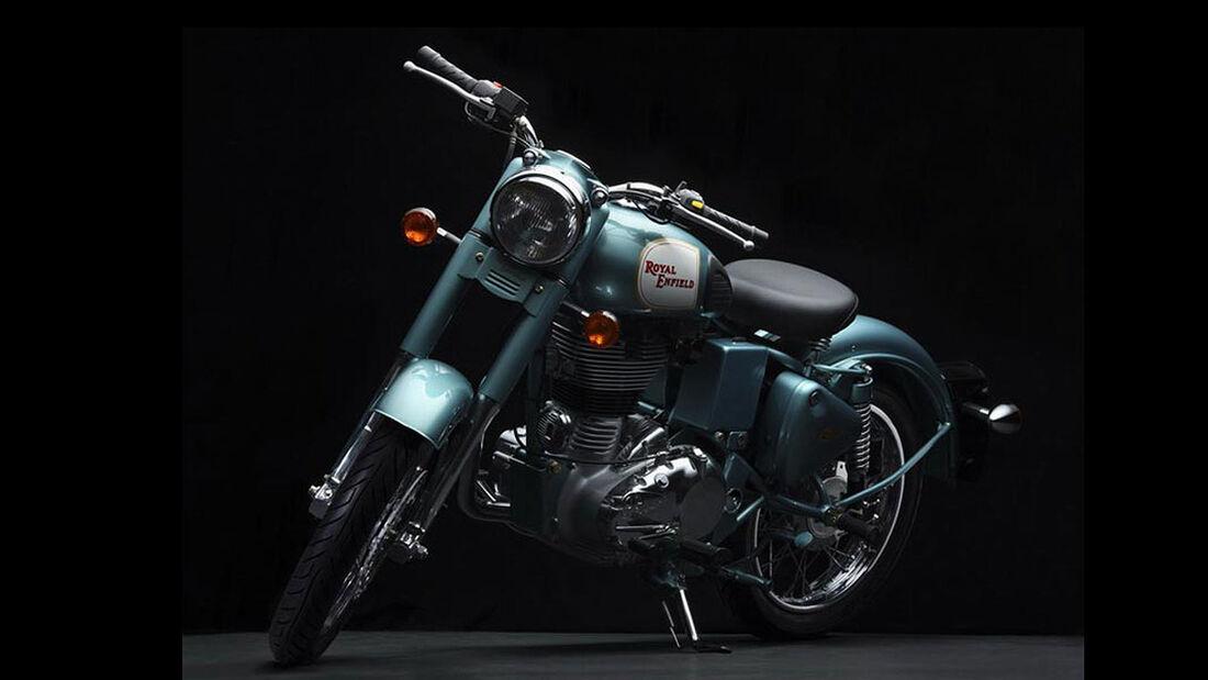 Motorrad 48 PS Royal Enfield Bullet 500 EFI