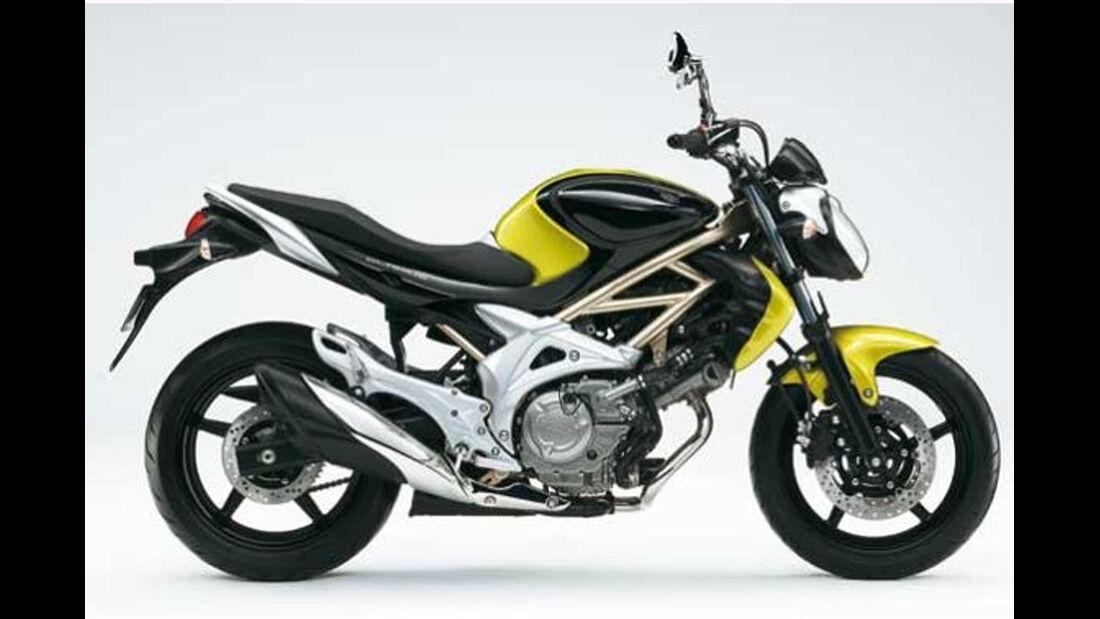 Motorrad 48 PS Suzuki Gladius
