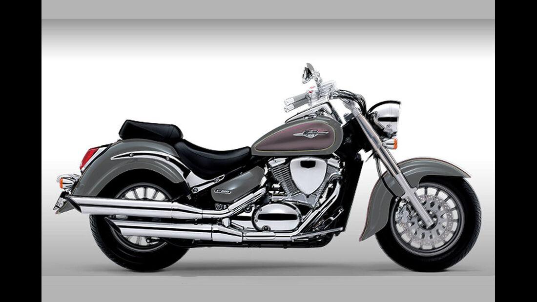 Motorrad 48 PS Suzuki Intruder C 800/C
