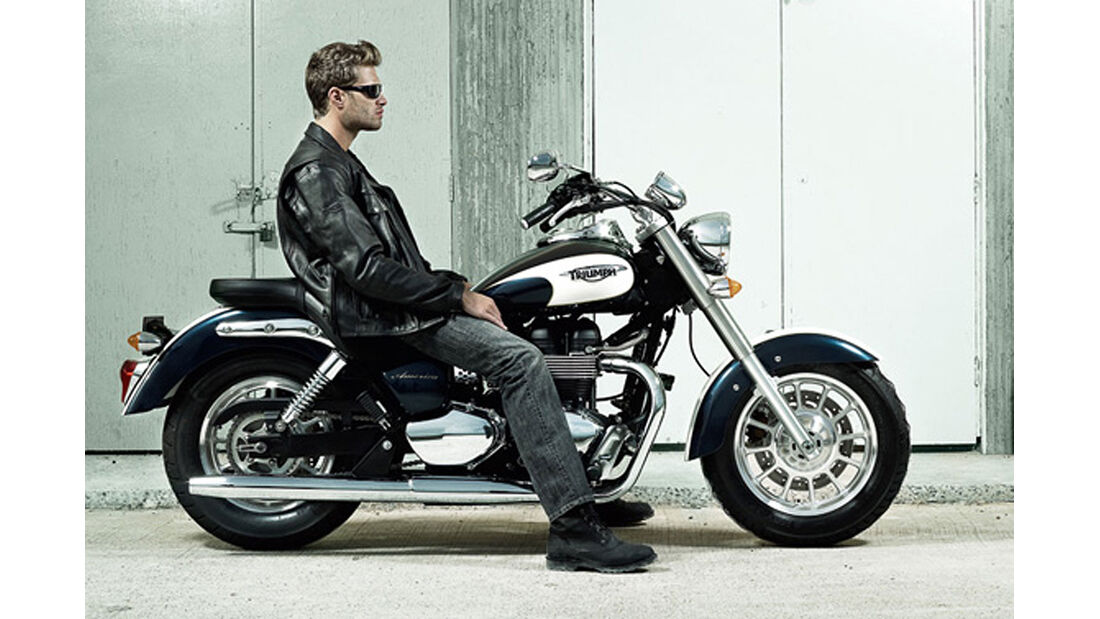 Motorrad 48 PS Triumph America