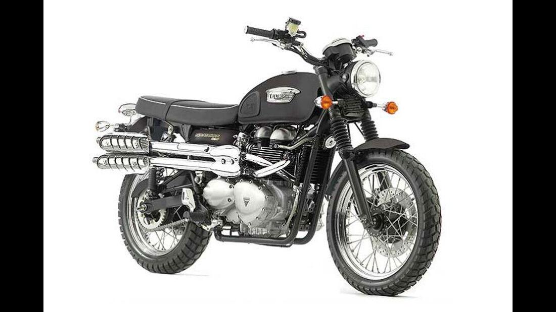 Motorrad 48 PS Triumph Scrambler