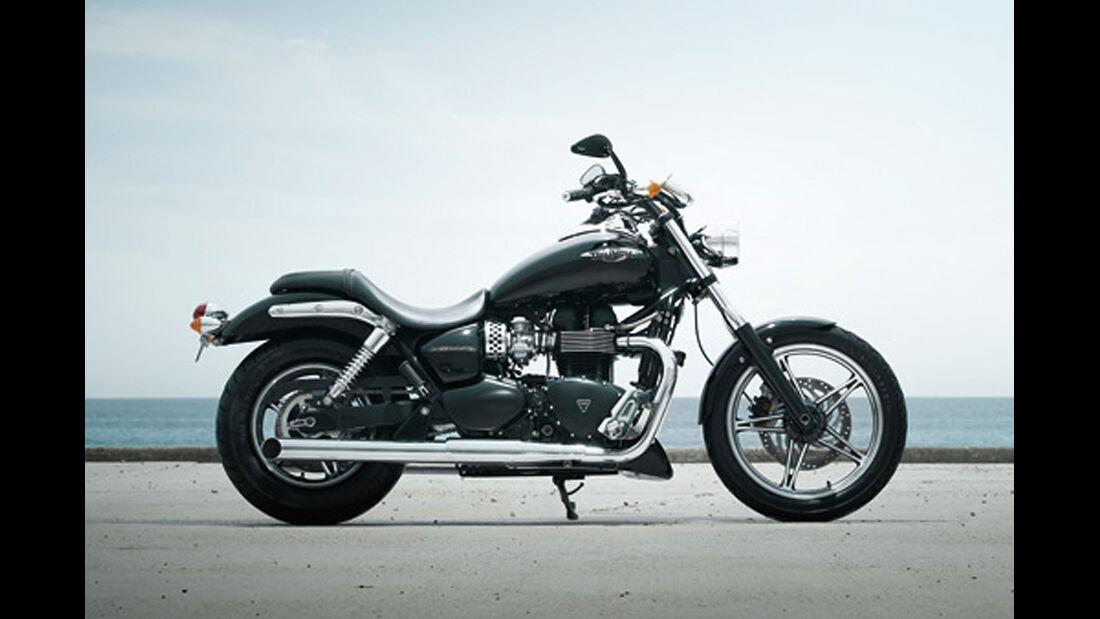 Motorrad 48 PS Triumph Speedmaster