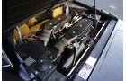 Motorraum mit V8 des Lamborghini Urraco P 300