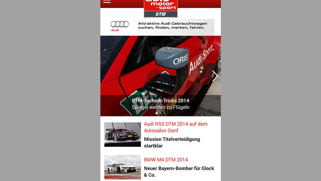 Motorsport-App