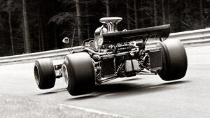 Motorsport-Fotografie, Ronnie Peterson, Pflanzgarten