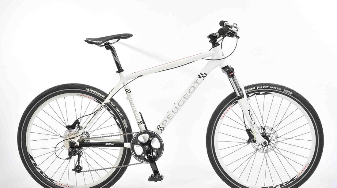 Mountainbikes der Autohersteller Peugeot Filou Millesim
