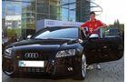 Müller, FC Bayern München, Fußballer und Autos, Audi S5