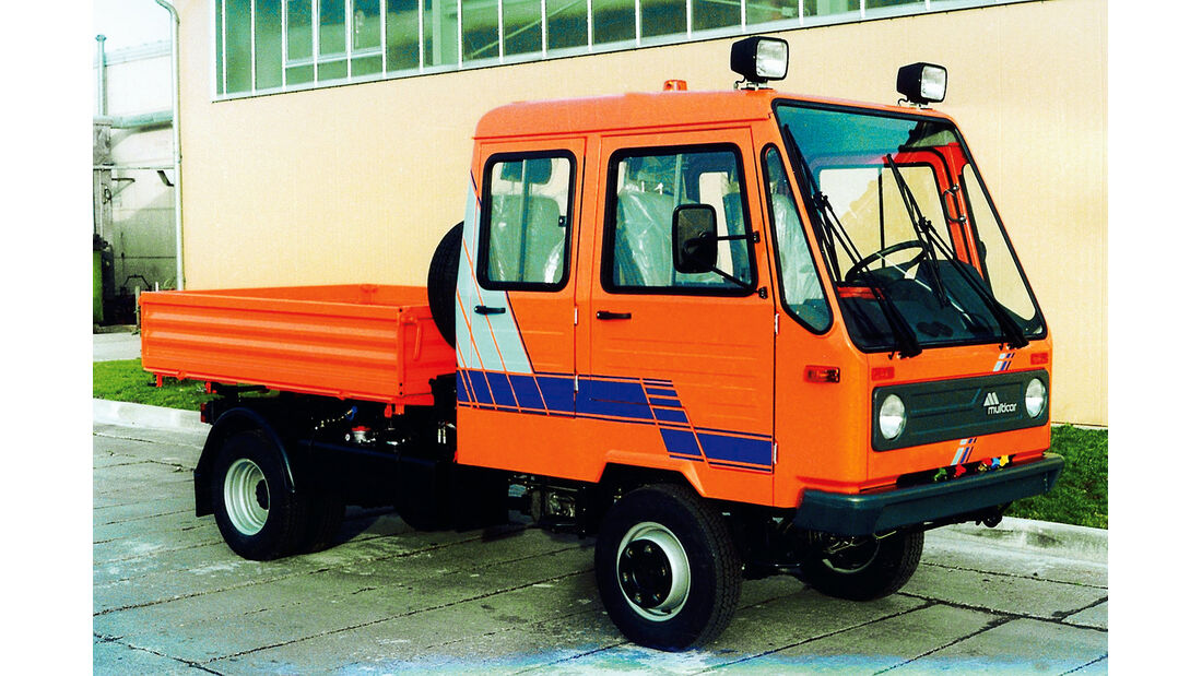 Multicar, Doppelkabine