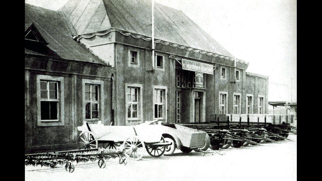 Multicar, Gerätebau Waltershausen