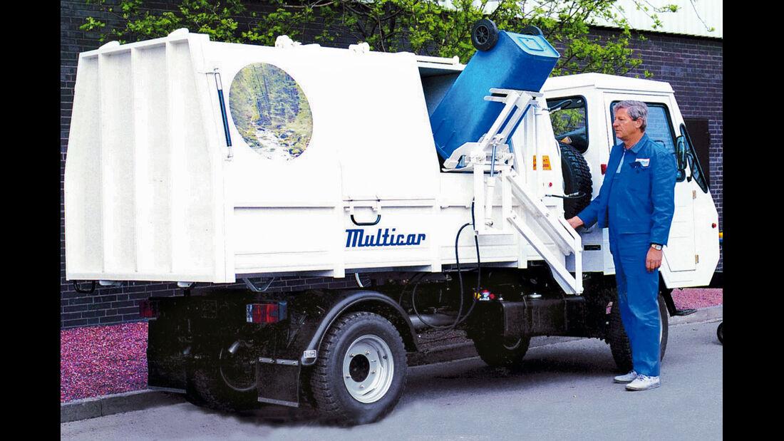 Multicar, Müllabfuhr