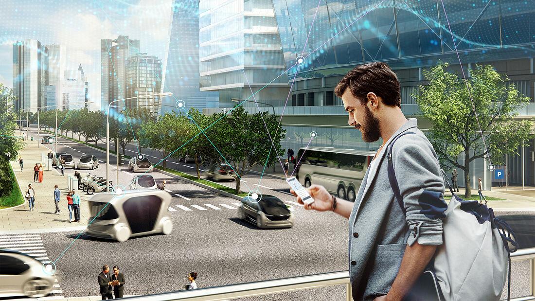 Multimodale Mobilität von Bosch