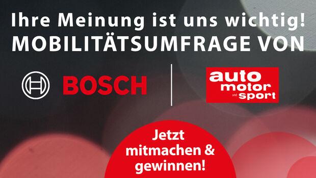 Multimodale Mobilität von Bosch, Umfrage