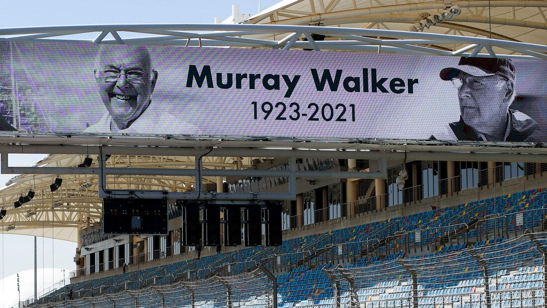 Murray Walker - Formel 1 - Test - Bahrain - 14. März 2021