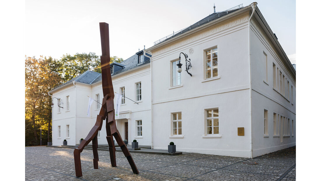 Museum Art.Plus Donaueschingen mit David Nash, Lightning Strike, 2008