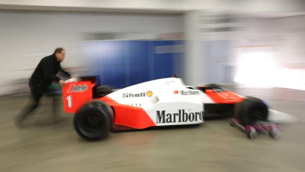 Museumslager, Porsche, Formel 1