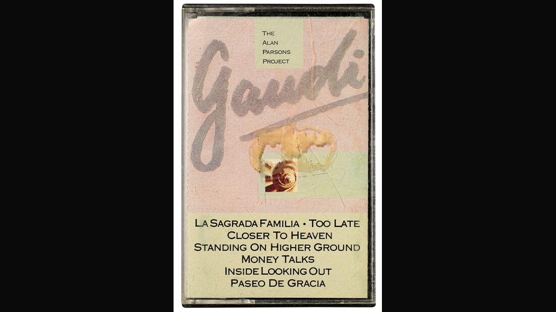 Musikkassetten, Alan Parsons, Gaudi