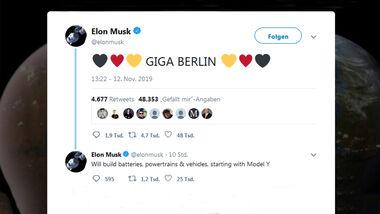 Musk Tweet Gigafactory