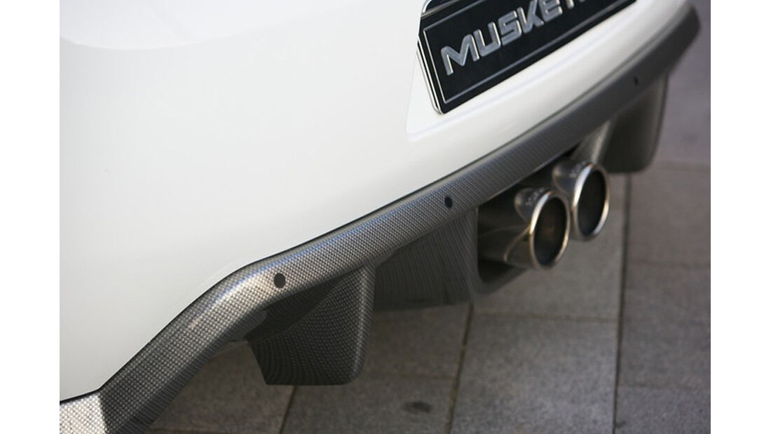 Musketier Citroen DS3 222 Tiburion Limited Edition, Auspuff, Diffusor