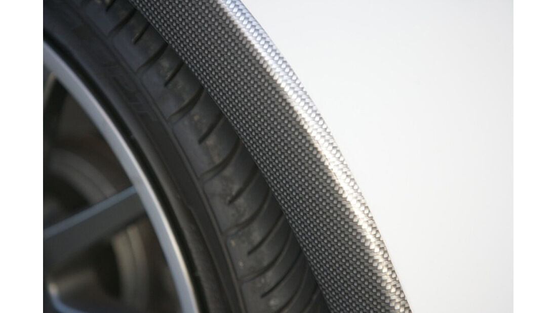Musketier Citroen DS3 222 Tiburion Limited Edition, Radlauf