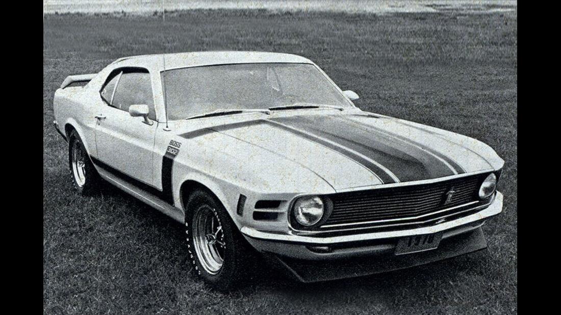 Mustang Boss 302, IAA 1969