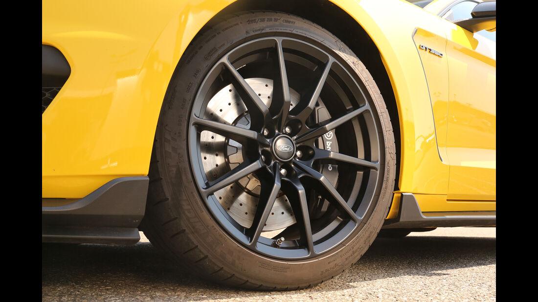 Mustang Shelby GT350, Felge