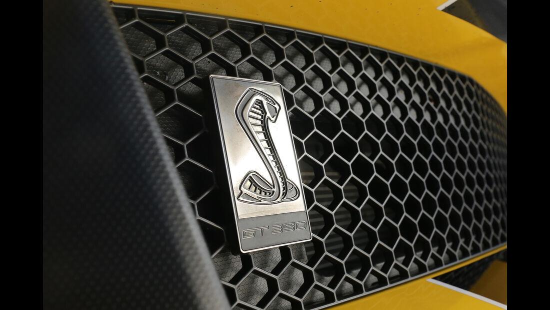 Mustang Shelby GT350, Logo