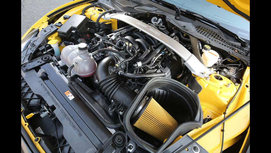 Mustang Shelby GT350, Motor