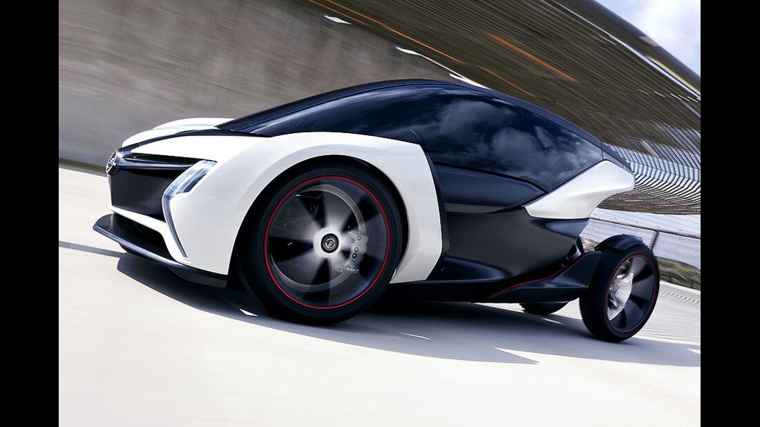 My first e-Opel, Concept car, IAA