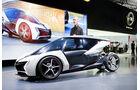 My first e-Opel, Concept car, IAA RAK e